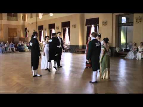 Quadrille Français Empire/Restauration *Regency* - Ier concours de danse historique - Carnet de Bals
