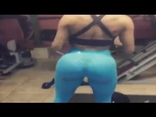 Big Butt In Blue