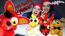 Бантики косички • СОНЯ и ПОЛИНА готовят Фокси в Пиццерии Фредди Фазбера!