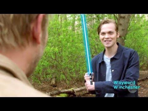 Supernatural 13x23 Jack REALLY Likes Star Wars