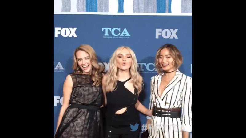 Amy Acker, Natalie Lind, Jamie Chung in FOXTCA 2018
