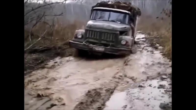 Дикое бездорожье 2 ! Mercedes Benz. Iveco 6x6. Ural . Kamaz