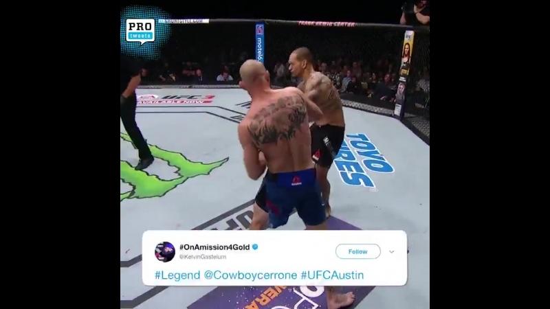 Donald Cerrone defeats Yancy Medeiros via KO/TKO at 4:58 of Round 1