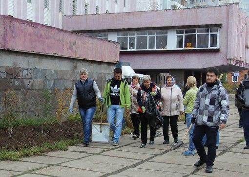 Субботник в Усть-Илимске