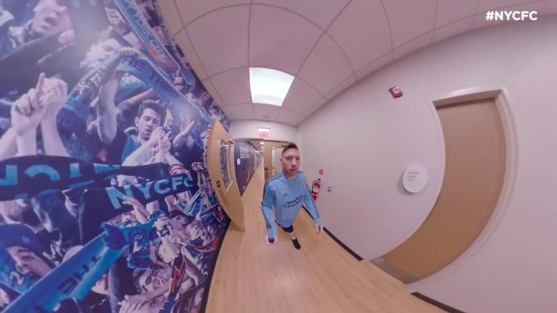 Etihad City Football Academy Tour with Tommy McNamara GoPro Fusion 360