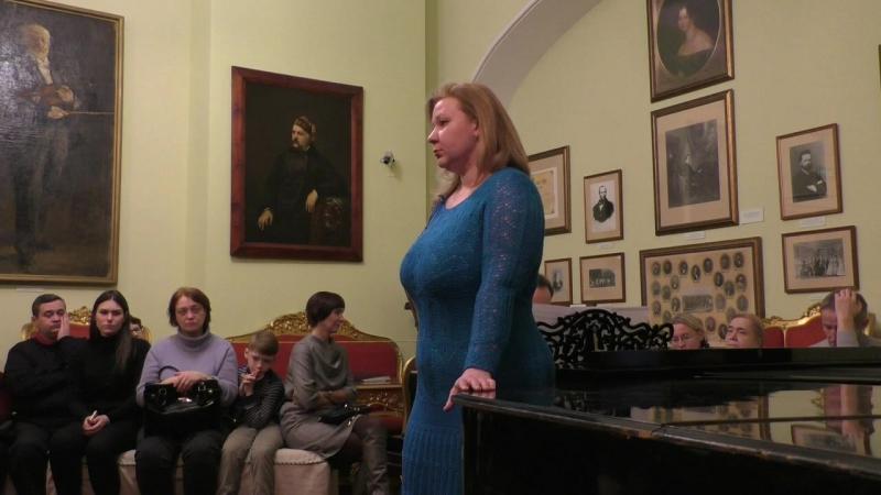 Рахманинов С.В. Она, как полдень, хороша. Исполняют Анастасия Жуковская (меццо-сопрано), Георгий Мигунов (фортепиано)