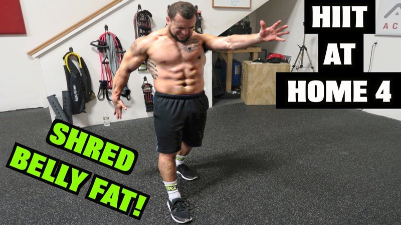 Intense 5 Minute Belly Fat Burning Cardio Abs Workout 4 | HIIT At Home!