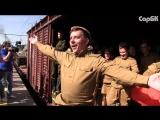 Встреча ретро-поезда