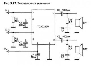 Как сделать усилитель на TDA2822M. Немного теории. rfr cltkfnm ecbkbntkm yf tda2822m. ytvyjuj ntjhbb.