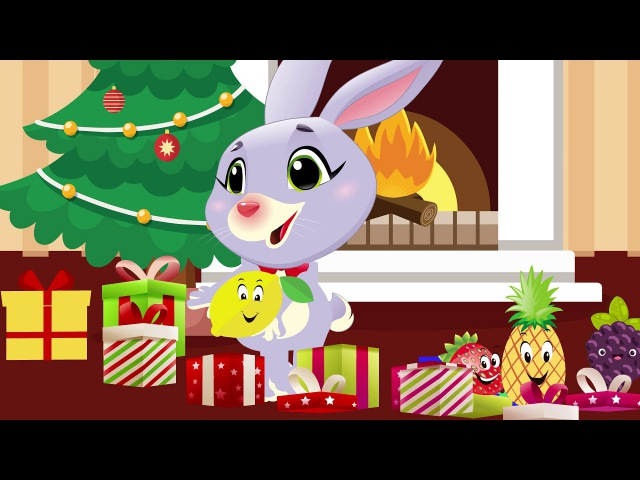 Fruit for kids - learn name of fruit with rabbit for children
