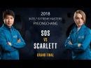 StarCraft II - sOs [P] vs. Scarlett [Z] - Grand Final - IEM PyeongChang [1/2]