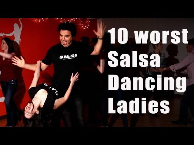 10 Worst Salsa Dancers (Part 2) Woman Version