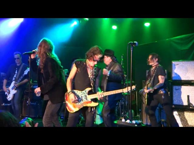 Joe Perry Johnny Depp Terry Reid Robin Zander Chris Robinson Come Together Pt1 The Roxy LA 1/16/18