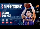 Devin Booker Leads the Suns With a Big 40-Point Night | February 26, 2018