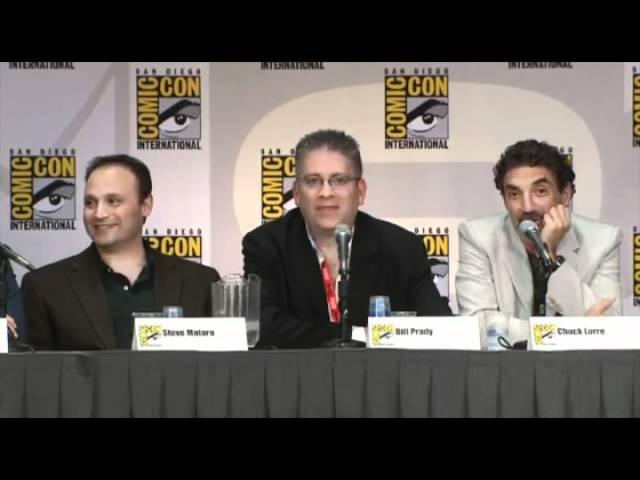 Выпуск 1. Теория большого взрыва видео с панели Comic Con