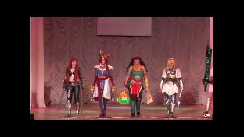 Shaco, Katarin, Lux, Riven, Illaoi, Miss Fortune - League of Legends - Magic Kingdom 2018