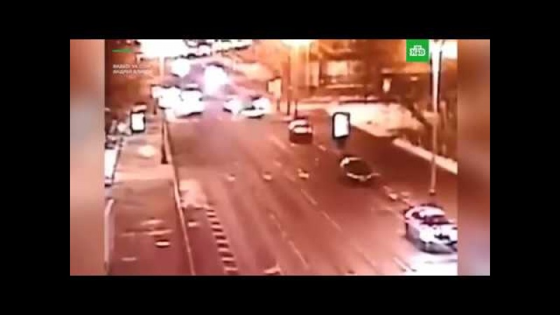 Гелик Тимати сгорел после аварии в Москве