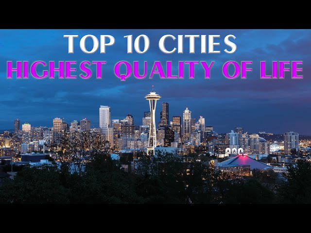 Top 10 Cities with Highest Quality of Life in USA