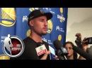 Klay Thompson comments on block on LaMarcus Aldridge | NBA on ESPN