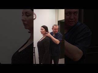 ЗдоровьеЗдесь! Доктор Весельский, ведущий остеопат центра, проводит экспресс ди...