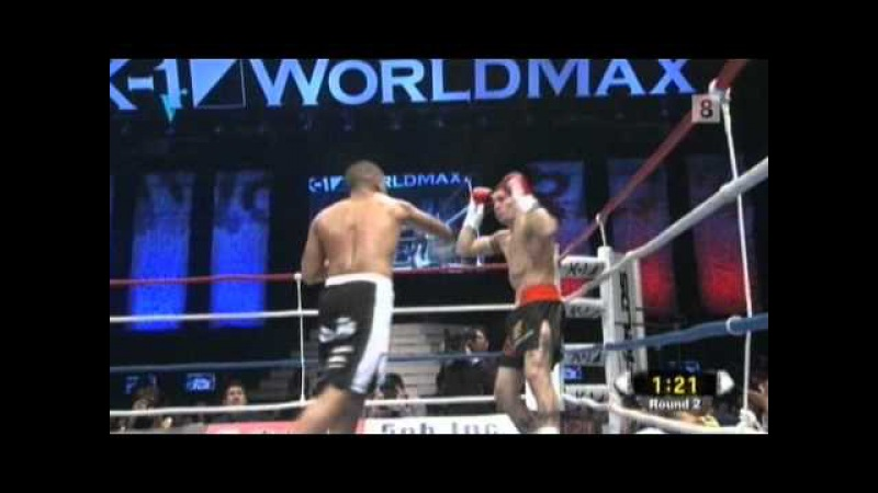 Gago Drago vs Mohamed Kamhal quarter finals K1 max w g p 2010