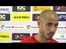 Pizarro: Estamos contentos por la victoria, pero sufrimos de más. 17/02/18. Sevilla FC