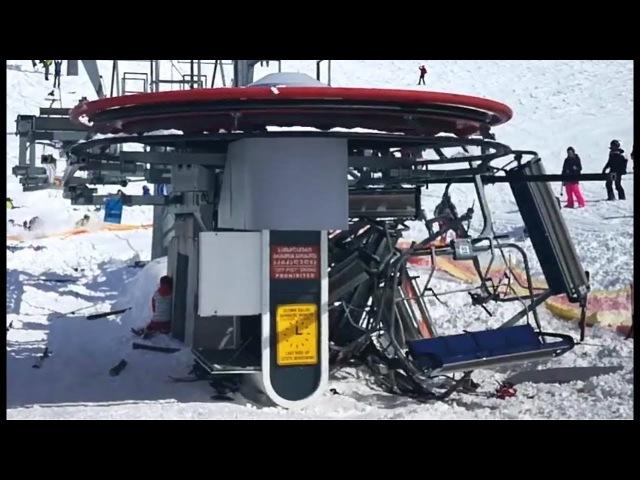 Gudauri Ski Lift accident Leaves at Least Ten injured