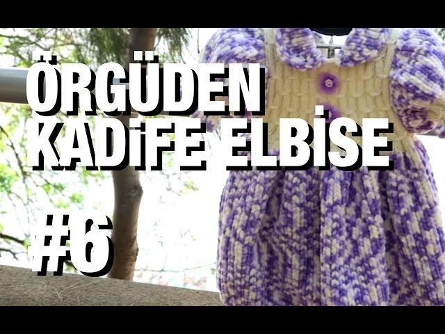 Örgüden Kadife Elbise Nasıl Örülür Detaylı Anlatım |9. Model (66)