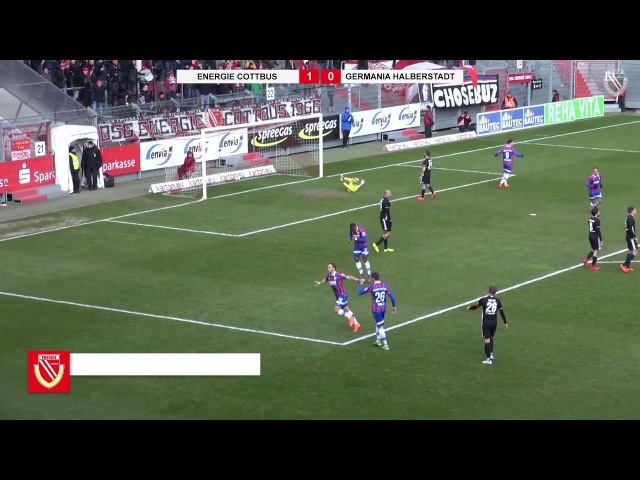 23 Spieltag FC Energie Cottbus Germania Halberstadt Die Highlights