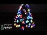 Светящаяся елка в Томске