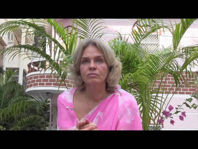 Ольга Бондарик интервью в Путтапарти 2012