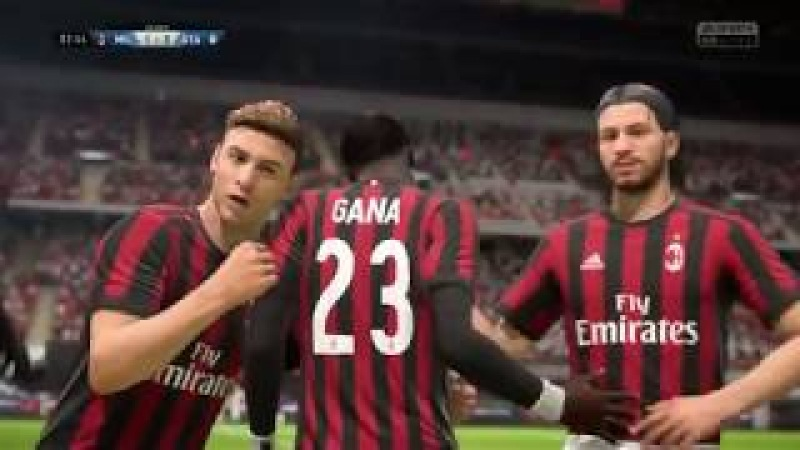 Прохождение FIFA 18 карьера за Игрока:За Геральта из Ривии - Часть 30: Матч против команды Аталанта