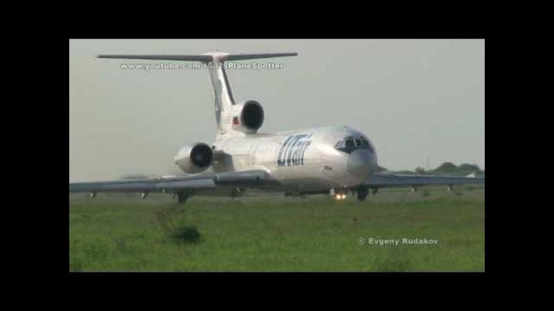 Tupolev Tu-154M UTair take-off