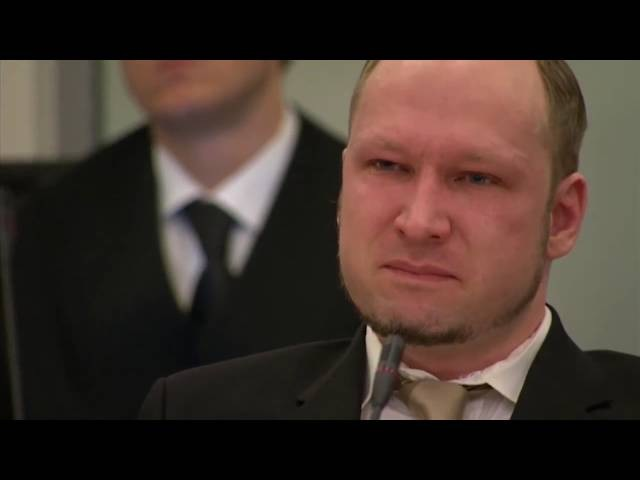 Anders Breivik crying to anime