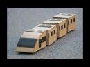 How To Make a Train - Cardboard Electric Train