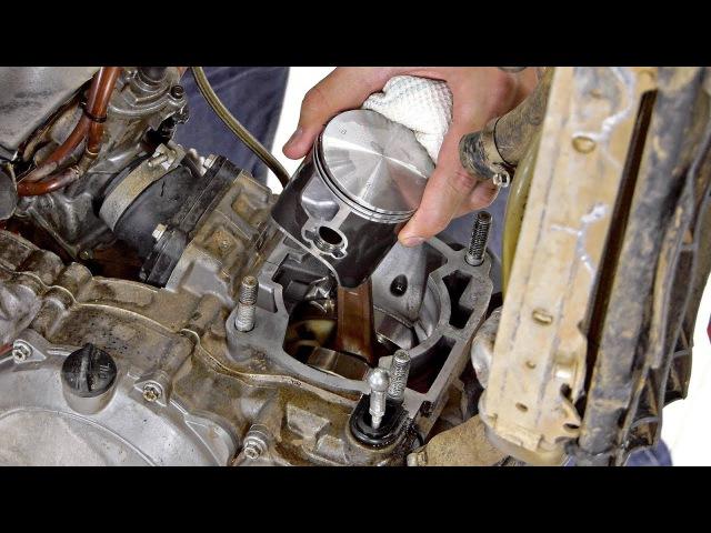 Замена Поршня на 2х Тактном KTM 250SX