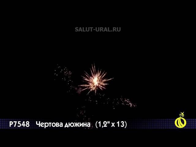 Р7548 Салют (1,2x13) Чертова дюжина