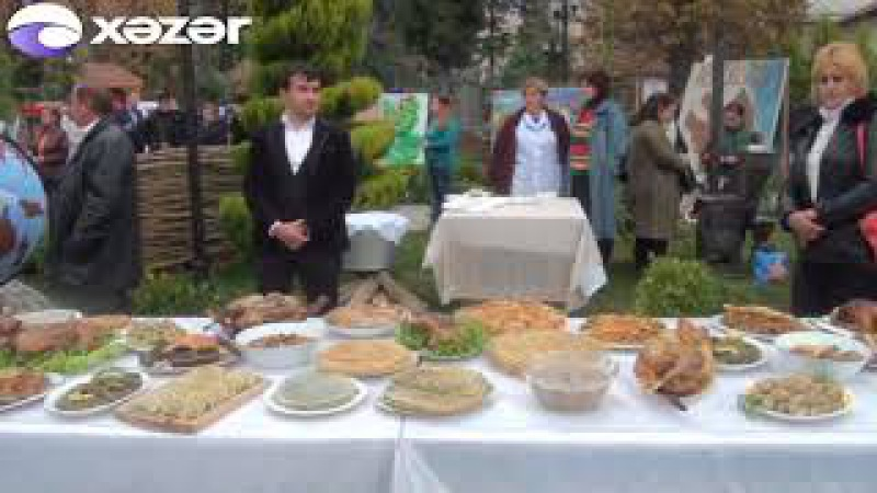Zaqatalada ilk dəfə Fındıq festivalı keçirilib