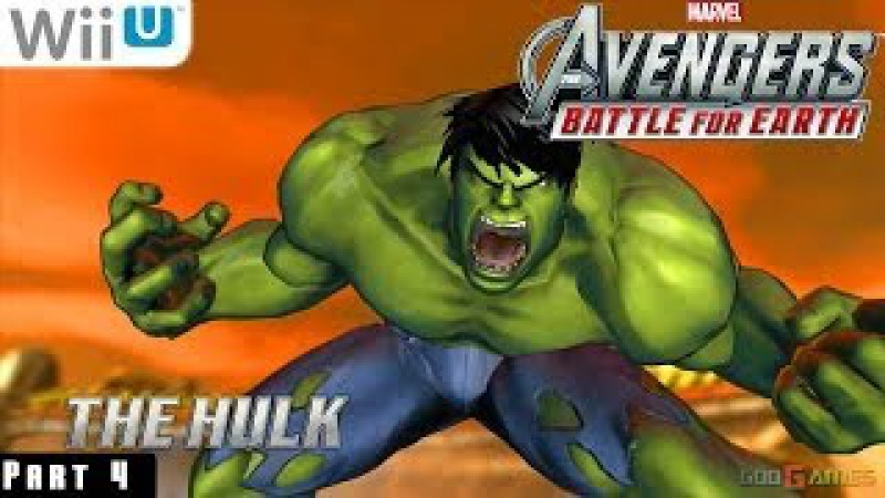 Marvel Avengers Battle for Earth - WiiU Gameplay 1080p part 4 (Hellicarrier)