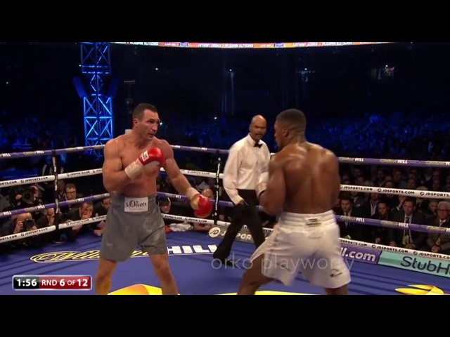 Anthony Joshua Down For The First Time IN his Career