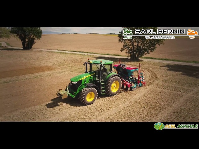 Semis de Colza 2017   John Deere 7230r Sulky Xeos HD   SARL Bernin