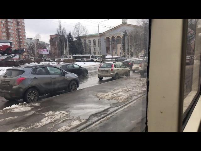 Ростовский трамвай / Rostov tram 71-619.