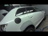 Кузовной ремонт  Audi A3  Большие сколы