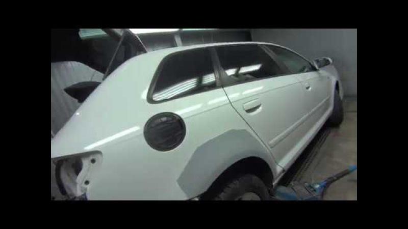 Кузовной ремонт / Audi A3 / Большие сколы