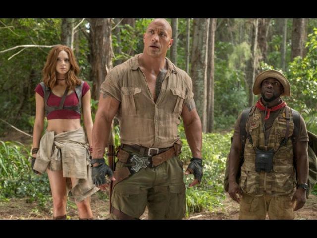 Видео к фильму «Джуманджи: Зов джунглей» (2017): Интервью с Дуэйном Джонсоном, Кеви ...