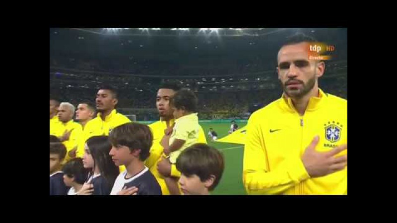 Hino Nacional no jogo da Seleção Brasileira (Versão Império do Brasil) — Brazilian Empire Anthem