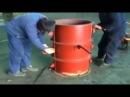Как изготавливают бетонные трубы для канализации Производство ЖБИ