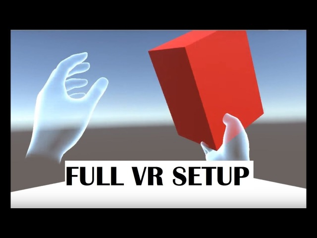 Unity Tutorial : VR, Oculus Avatar and Grabbing Object setup IN 5 MINUTES