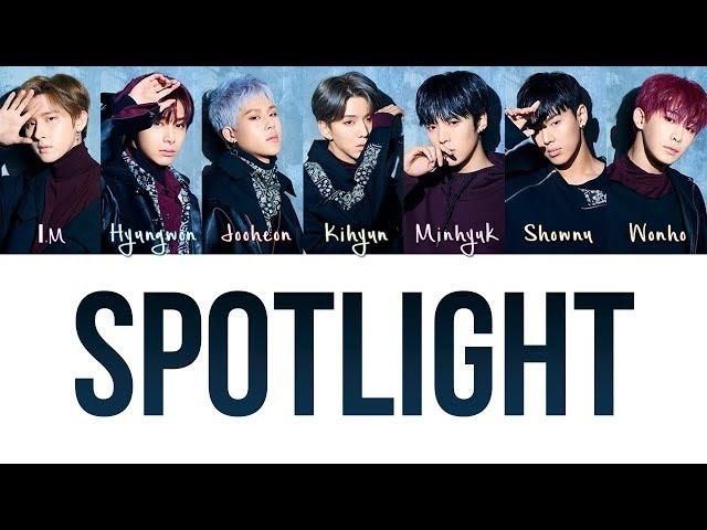 MONSTA X 몬스타엑스 'Spotlight' Lyrics JAP ROM ENG Color Coded