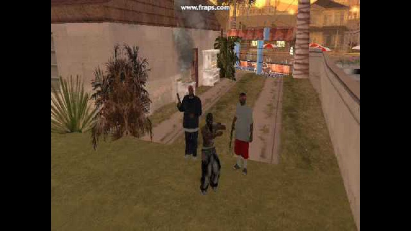 GTA SAN ANDREAS CRIPS LATIN KINGS AND BLOODS(MODS)